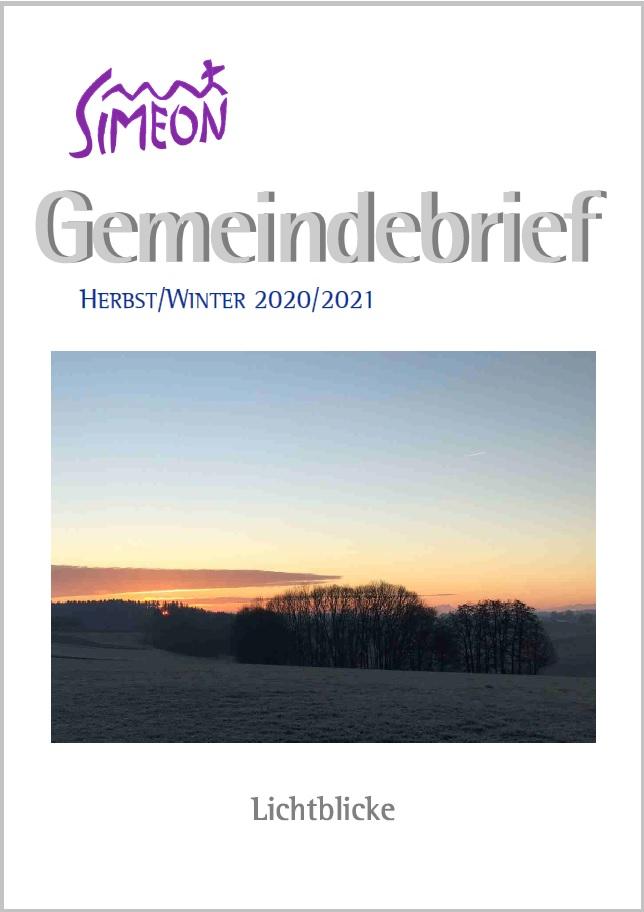 Gemeindebrief Simeon Herbst-Winter 2020-2021